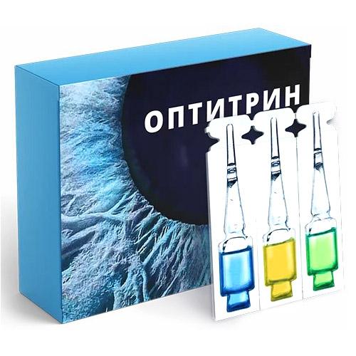 Оптитрин глазные капли
